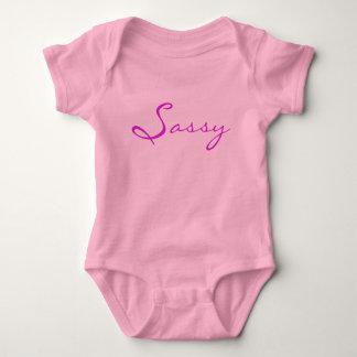 Sassy Baby Girl Sleeper Baby Bodysuit