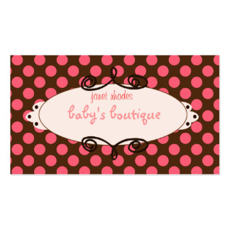 Sassy boutique, business cards