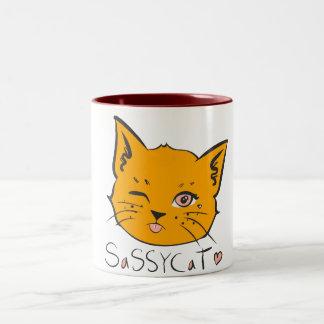 Sassy Cat Mug