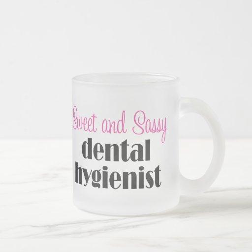Sassy Dental Hygienist Mug