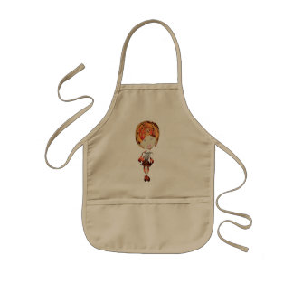 Sassy Digital Girl Kids Apron