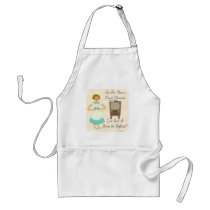 Sassy Fifties Gamer Housewife Standard Apron