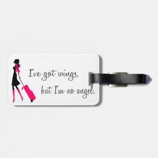 Sassy Flight Attendant Luggage Tag