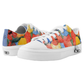 Sassy Floral Sneakers