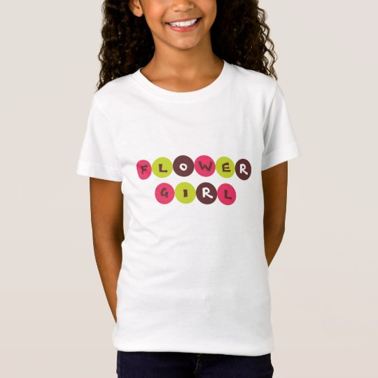 "Sassy ""Flower Girl"" Tshirt"