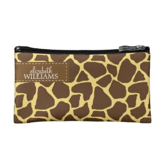 Sassy Giraffe Pattern Makeup Bags