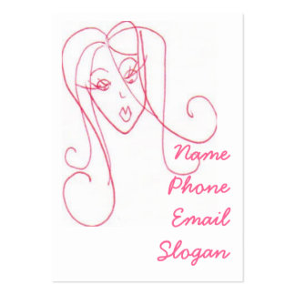 Sassy Girl Business Card Template
