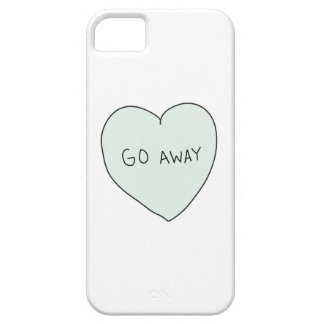 Sassy Heart: Go Away iPhone 5 Covers