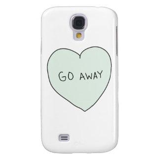 Sassy Heart Go Away HTC Vivid Case