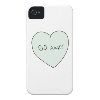 Sassy Heart: Go Away iPhone 4 Covers