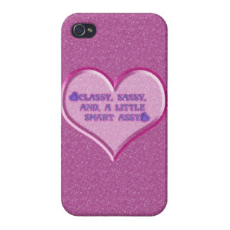 Sassy Heart iPhone 4 Case