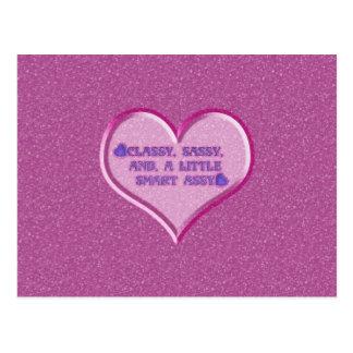 Sassy Heart Postcard