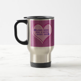 Sassy Heart Travel Mug