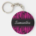 Sassy Hot Pink Zebra Personalised