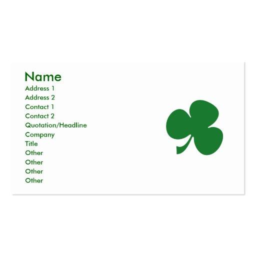 Sassy Lassie Business Card