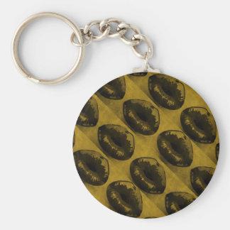 Sassy Lips Keychains