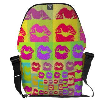Sassy Lips POP Art Commuter Bags