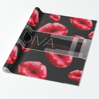 Sassy Little Diva Wrapping Paper
