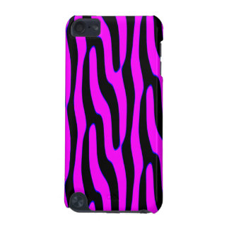 Sassy Neon Pink Wild Animal Print iPod Touch 5G Cover