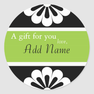 Sassy Personalized Gift Stickers