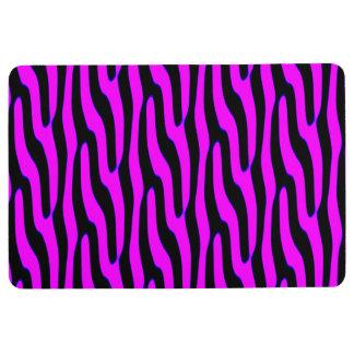 Sassy Pink Wild Animal Print Floor Mat