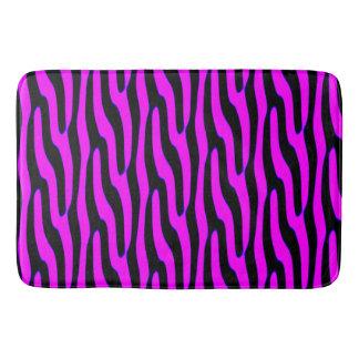 Sassy Pink Wild Animal Print Bath Mats