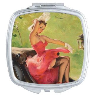 Sassy Pinup Compact Mirror