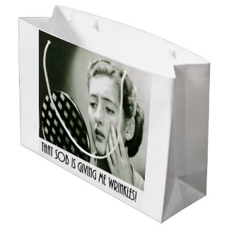 Sassy Retro Gift Bag Large Gift Bag