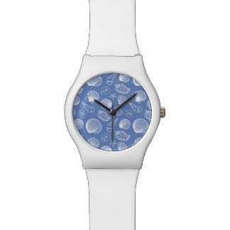 Sassy Seashell Pattern Watch