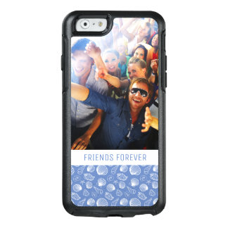 Sassy Seashell Pattern | Your Photo & Text OtterBox iPhone 6/6s Case