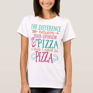 Sassy Shirts, Pizza Lover Gifts T-Shirt