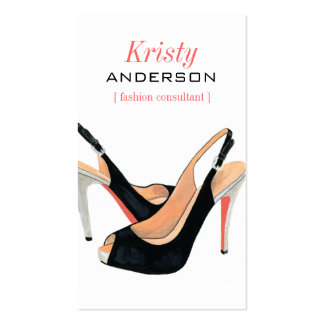Sassy Shoes Business Card