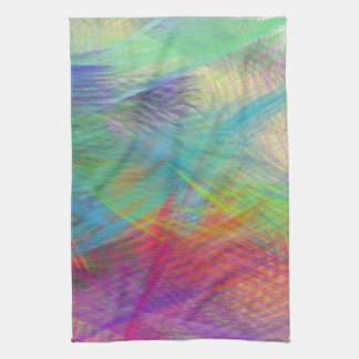 Sassy Sissy Girl Summer Dreams Color Pastel Tea Towel