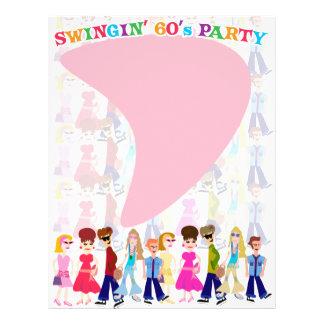 "Sassy Sixties Kids! 8.5"" X 11"" Flyer"