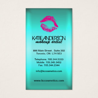 Sassy Smooch Lips Business Cards
