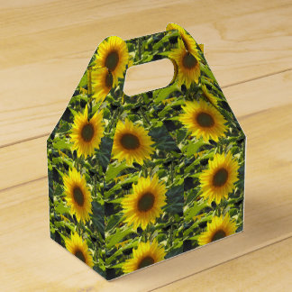 Sassy Sunflowers Favor Box