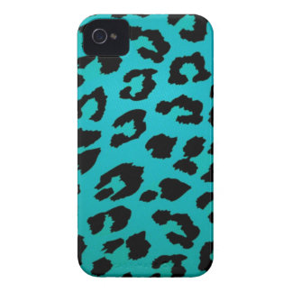 Sassy Teal Leopard Animal Print Case