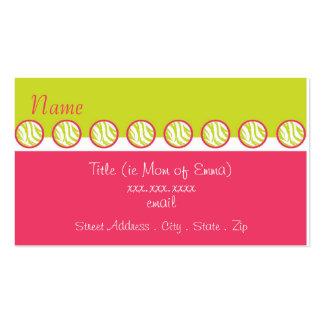 Sassy Zebra Mommy Card Business Card Template