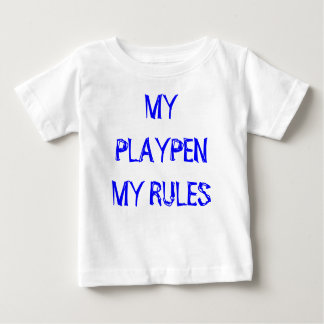 Sassydog My Playpen baby shirt