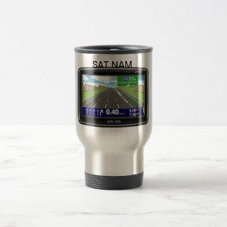 SAT NAM travel mug