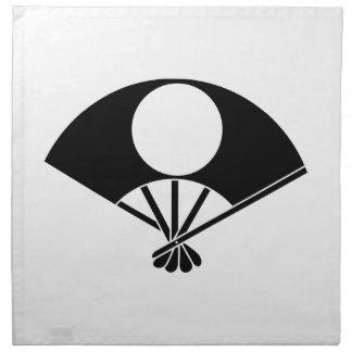 Satake fan cloth napkin