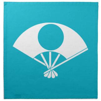 Satake fan printed napkins