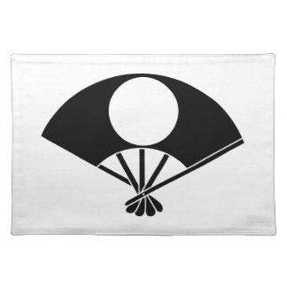 Satake fan cloth placemat