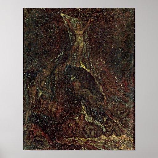 Satan Calling up his Legions Poster