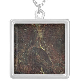 Satan Calling up his Legions Silver Plated Necklace