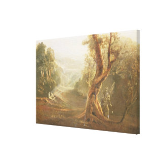 Satan Contemplating Adam and Eve in Paradise, from Stretched Canvas Prints