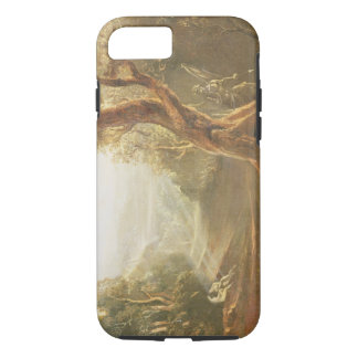 Satan Contemplating Adam and Eve in Paradise, from iPhone 7 Case