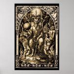 Satan Enthroned 24x36 Art Poster