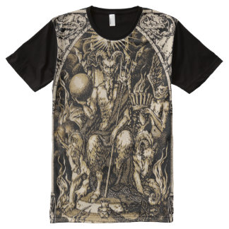 Satan Enthroned ALL OVER All-Over Print T-Shirt