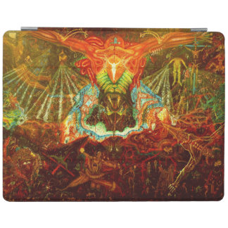 Satan inspiring the world iPad cover